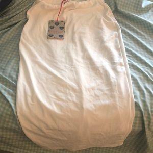 Brand New White Boo Hoo Pencil Skirt
